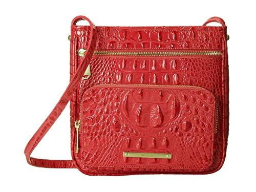 Brahmin Tilda Leather Crossbody Bag Melbourne Tulip Pink (Pink Ladies Bowling Bag)