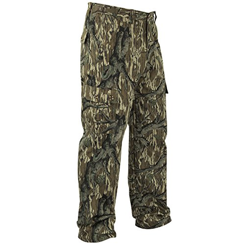 Mossy Oak Camouflage Cotton Mill Hunting Pants, Original Treestand, ()