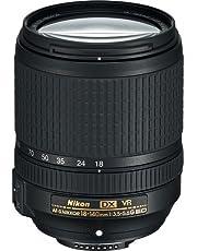 Nikon AF-S® DX Nikkor 18 – 140 mm f/3,5 – 5,6 G ED Lente de reducción de vibración con Enfoque automático para cámaras DSLR versión Internacional (sin garantía)