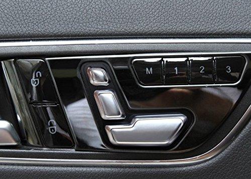 matcc cromado puerta asiento ajustar los botones interruptor para Mercedes-Benz Clase E W212 218 CLS GL: Amazon.es: Coche y moto