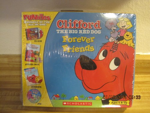 gbook + Compact Disc + Sticker Book + Cd-rom + Dvd (Clifford, the Big Red Dog) ()