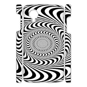Google Nexus 5 Geometric patterns 3D Art Print Design Phone Back Case Customized Hard Shell Protection JK043380