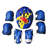 ANNA SHOP Kids Helmet Set Bike Pads Protective Gear for 3-10 Years old