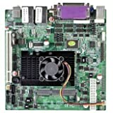 I52-62E Mini-ITX Industrial Motherboard,Using Intel Atom D525 Processor,the Biggest Support for 4GB,Support VGA, 24 Bit LVDS