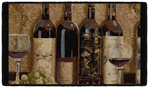 Brumlow Mills Wine Boutique Kitchen Rug, 20 by 44