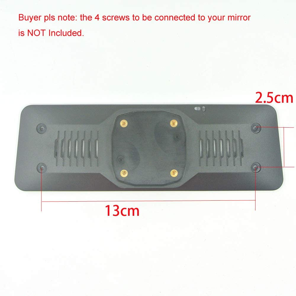 Mirrors ANSHILONG OEM Rear View Mirror Back Plate Panel Interior ...