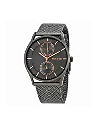 Swatch SKW6180 40mm Grey Steel Bracelet & Case Mineral Men's Watch