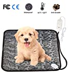 heated blanket cat - Pet Heating Pad Mat, Loveone(TM) Cat Waterproof Electric Heated Bed Puppy Cushion With Chew Resistant Tube, Temperature Adjustable Warmer Dog Blanket for Winter for People/ pets