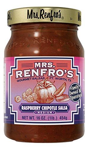 Mrs. Renfro's Raspberry Chipotle Salsa, 16 oz (2 Pack)