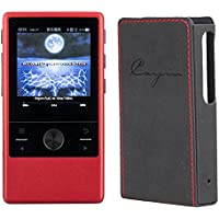 Cayin N3 DAP, Master Quality Digital Audio Player (Red) with Leather Case