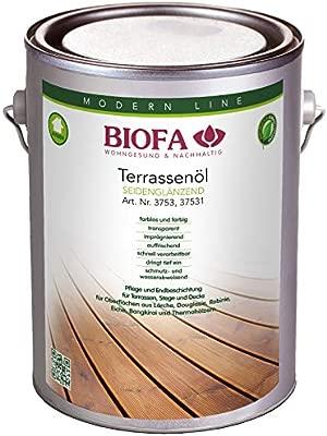 Biofa 3753 Incolore 2 5 L Aceite Natural Para Terrazas De