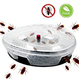 Smarlance Efficient Roach Trap, Cockroach Trap, Cockroach Killer, Roach Killer, Roach Holder, Safe Reusable, Non-Toxic and Eco-Friendly (1 PACK)