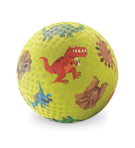 (Crocodile Creek Dinosaurs Playground Ball, Green, 5