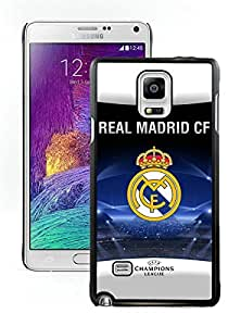Samsung Note 4 Case,2015 Hot New Fashion Stylish Real Madrid Black Case Cover for Samsung Note 4