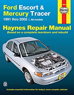 Ford escort and tracer 1991 99 chilton total car care series ford escort mercury tracer 1991 2002 haynes repair manual fandeluxe Images