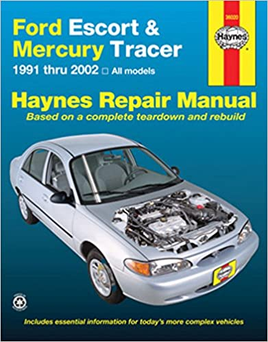 Ford escort mercury tracer 1991 2002 haynes repair manual ford escort mercury tracer 1991 2002 haynes repair manual 1st edition fandeluxe Images