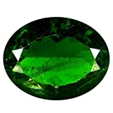 Deluxe Gems 4.84 ct AAA Grade Oval Shape (13 x 10 mm) Green Color Russian Chrome Diopside Natural Loose Gemstone
