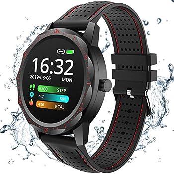 Amazon.com: Smart Watch, OUKITEL Activity Fitness Tracker ...