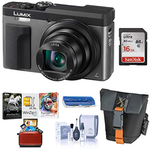Panasonic LUMIX DC-ZS70S, 20.3 Megapixel, 4K Digital Camera, Touch Enabled 3-inch 180...