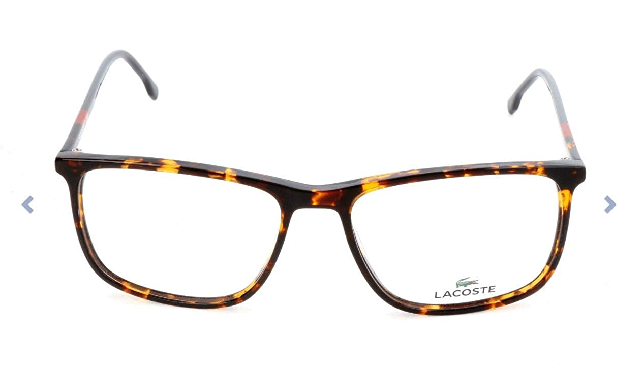 d69afb0a98a0 Eyeglasses LACOSTE L 2807 220 RED HAVANA at Amazon Men s Clothing store