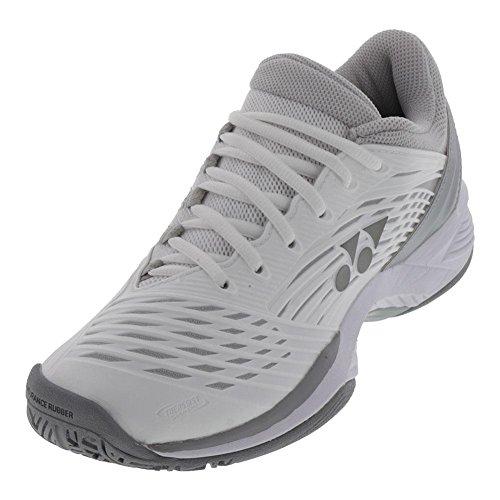 Yonex-Women`s Power Cushion Fusionrev 2 Tennis Shoes White-(008235284820)