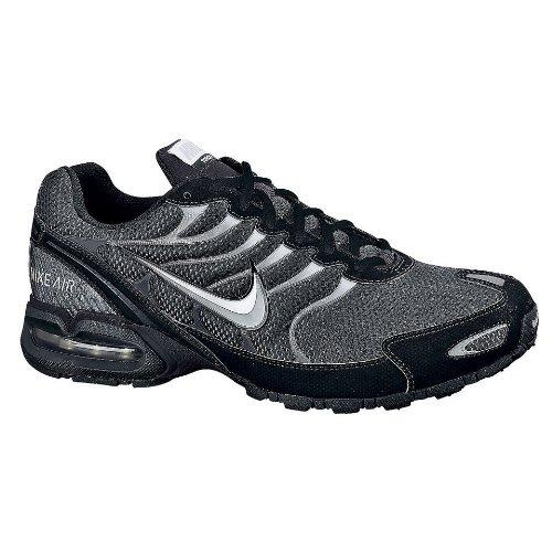 Nike Mens Air Max Torch 4 Scarpa Da Corsa Antracite / Argento Metallizzato-nero