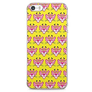Loud Universe Pink Panther Face Pattern iPhone 5 / 5s Case Pink Panther iPhone 5 / 5s Cover with Transparent Edges