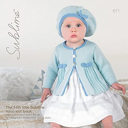 Sublime The Fourteenth Baby Cashmere Merino Silk Book 671 Knitting