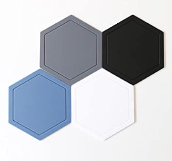Kitchen Silicone Hot Pads (Set Of 4)   Multipurpose Kitchen Utensils, Cup  Coaster