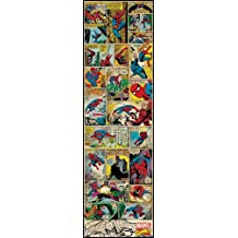 RoomMates RMK2358SLG Marvel Comic Panel, Spiderman Classic Peel and Stick Giant Wall Decal