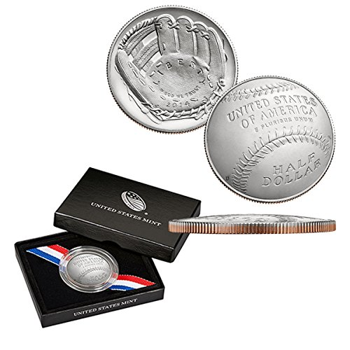 2014 D Commemorative Set Baseball Hall Of Fame Half Dollar Uncirculated Half Dollar Uncirculated US Mint