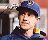 Craig Counsell Autographed Photograph - Manager 8x10 W coa - Autographed MLB Photos