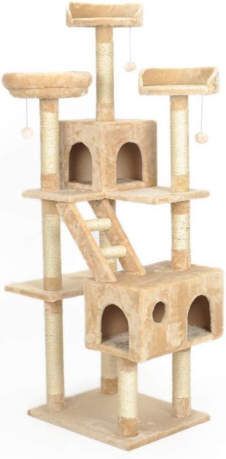 Tree Big Cat trepador Gato Arena para Gatos Cat Frame Integrado ...
