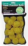 Jef World of Golf Gifts and Gallery, Inc. Foam Practice Balls (Yellow, Set of 18), Outdoor Stuffs
