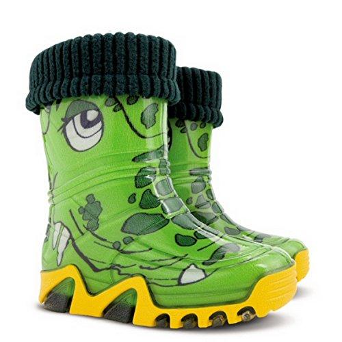Demar , Jungen Stiefel Grün grün