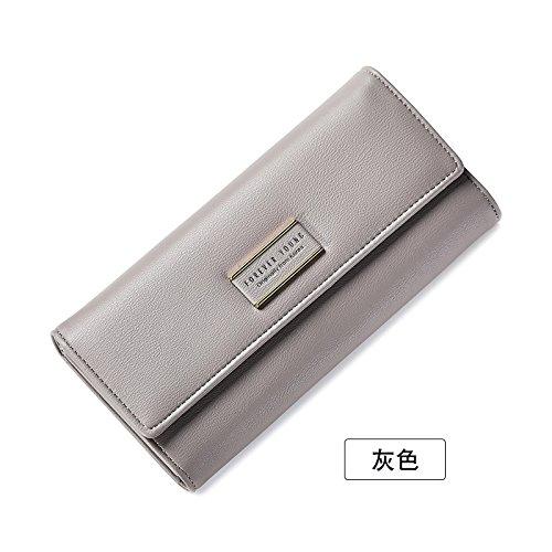 main sac sac Lady à à main de gray à et porte monnaie Burenqi Sac main pliage xqtw0CFX