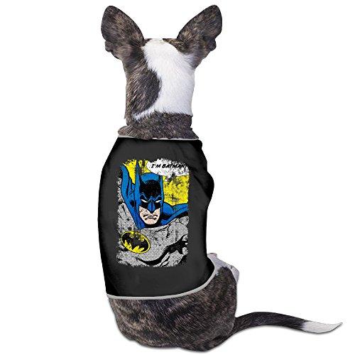 Cute Batman I Am Batman Comic Pet Dog T Shirt.