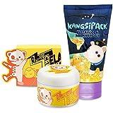 Elizavecca Kangsi Pack Wrinkle care Deep Cleansing 24K Gold Mask + Elizavecca Wrinkle care Revitalize EGF Retinol Cream