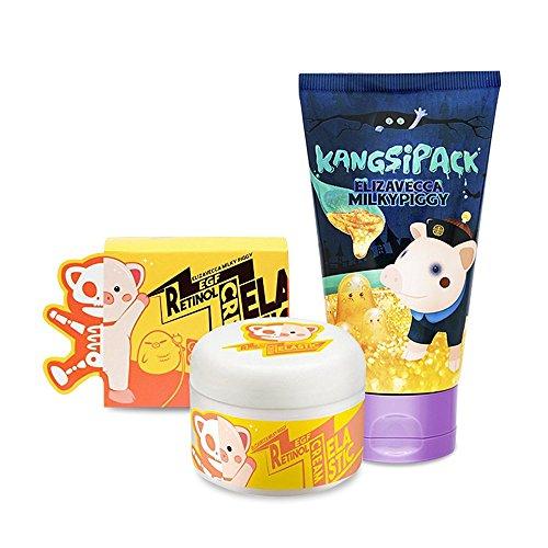 Elizavecca Kangsi Pack Wrinkle care Deep Cleansing 24K Gold Mask Elizavecca Wrinkle care Revitalize EGF Retinol Cream