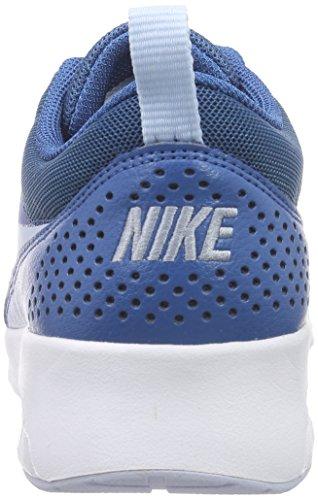 Brigade Porpoise Air Bleu Baskets NIKE Thea Blau Bleue blanc Max Femme Basses 6vwq8Sq4
