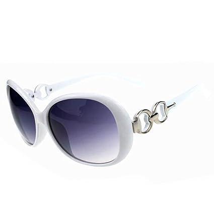 5166425ce6 Women Shades Oversized Eyewear Classic Designer Sunglasses Fashion Style  UV400-White Grey  Amazon.co.uk  Kitchen   Home