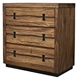 Alpine Furniture Small Chest in Tobacco Finish