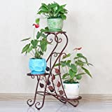 European style flower frame creative multi-storey flower rack balcony living room interior flower pot rack-A