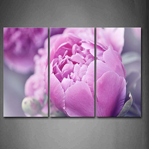 First Wall Art - A Big Pink Flower Wall Art Painting The ...