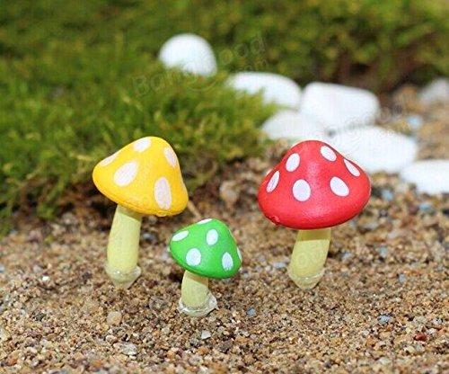 Bazaar Ornamento Micro Setas en Maceta de Plantas de jardín Paisaje decoración Bricolaje: Amazon.es: Hogar