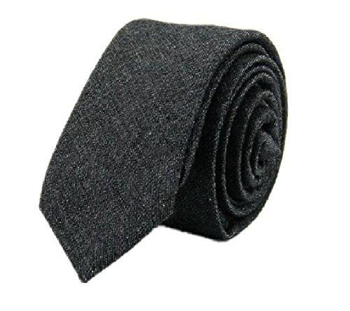 Cotton Denim Tie - 2