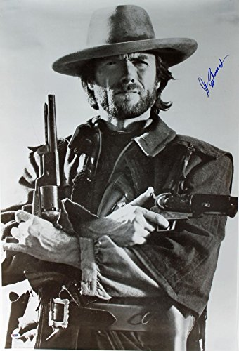 Clint Eastwood Signed 24x36 Outlaw Josey Wales Poster #X01634 - PSA/DNA Certified