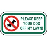 ComplianceSigns Aluminum Pets / Pet Waste sign, Reflective 12 x 6 in. with No Pets Allowed info in English, White