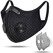 Sport Mask, Face Masks Reusable, Men and Women, Breathable Face Mask and Skull Mask for Running, Cycling, Wood