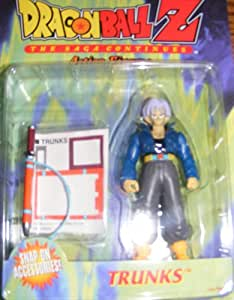Dragon Ball Z S Trunks Action Figure The Saga Continues Series 1